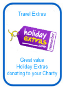 Holiday Extras donating to your charity