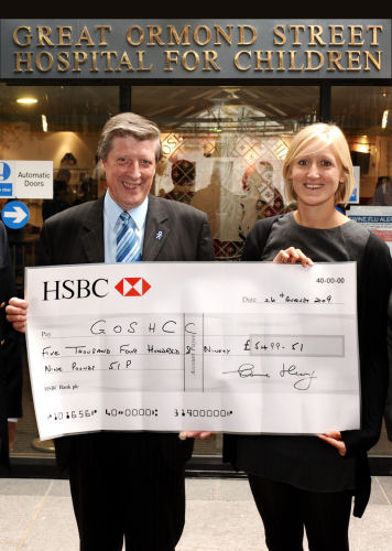 Great Ormond Street Hospital donation